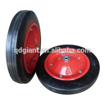 13*3 solid rubber wheelbarrow wheel made in Qingdao