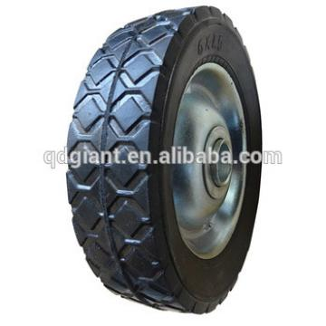 6x1.5 small solid wheel for toys /lawn mower/ carts