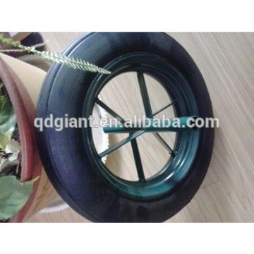 """14""""x4"""" wheel used hand truck solid rubber tire"""