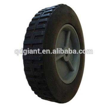 8in solid wheel with plastic rim 8''*1.75'' rubber wheel Toy cart wheel