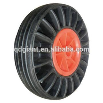 10x3 small solid rubber wheels for trolley