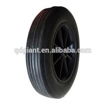 Diameter 200mm solid rubber wheels