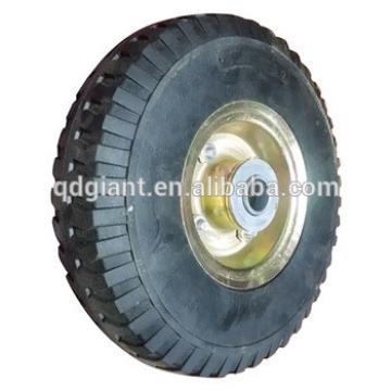 Qingdao factory 10x3.00-4 solid wheel