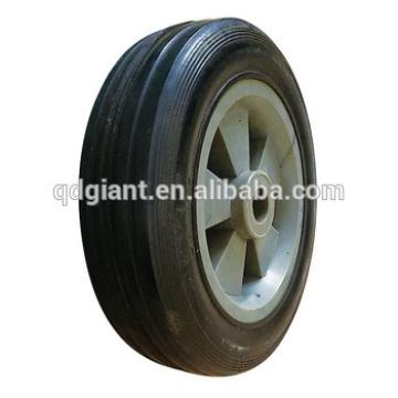 small solid rubber wheels