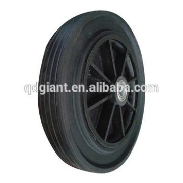 12 inch solid rubber wheels have good price