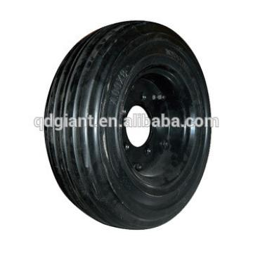 wheel barrow tire 4.80/4.00-8 solid foam rubber wheel