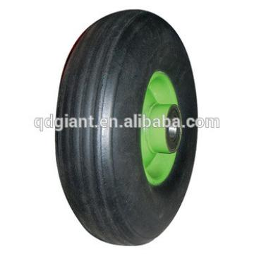 9X3 inch solid rubber wheels