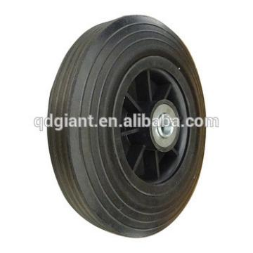 8 inch solid rubber wheels