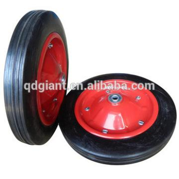 13x3 inch solid rubber tire for wheel barrow