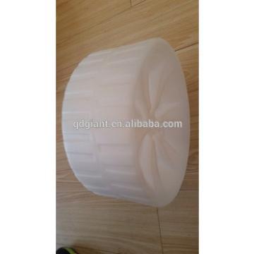 10 inch PE Blow molding wheel 10X4