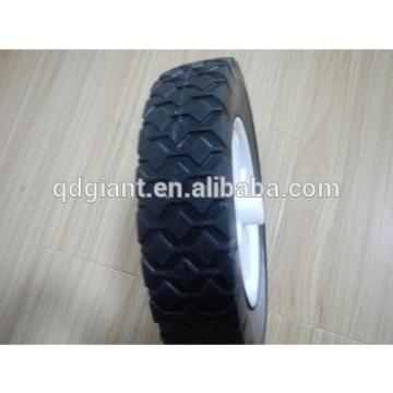 8 inch semi solid tire and wheel