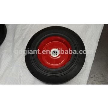 Solid rubber wheel 10x2.5 inch 250mm wheels