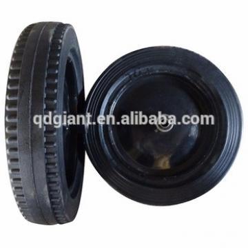 Latin America 16 inch wheelbarrow solid rubber tires