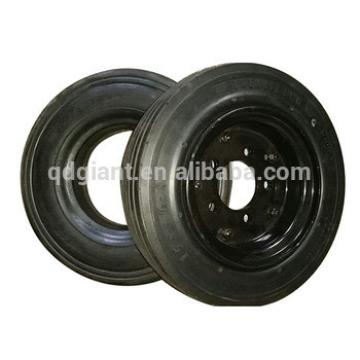 4.00-8 tubeless high quality solid rubber wheel