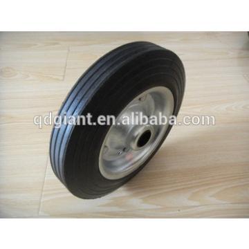 solid rubber wheels for kids wagon cart / garden trolleys