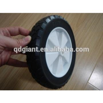 8 inch Solid Rubber Wheel for Wagons or Outdoor Dustbin