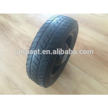"8"" semi pneumatic wheel for lawn mover/hand trolley/air compressor"