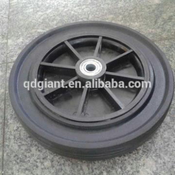 12inch solid rubber wheels for wheelbarrow and beach cart