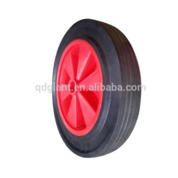 12 inch durable reliance solid rubber wheel made in china