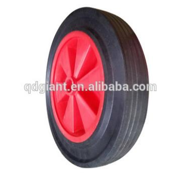 12inch solid rubber wheelbarrow and hand trolleys wheel for sale