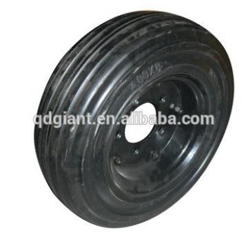 cheap solid wheelbarrow wheels 400-8