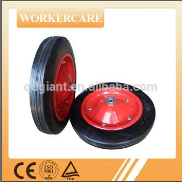"""13""""x3"""" low price solid rubber wheel for South Africa wheelbarrow"""