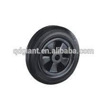 hot sale 8inch solid rubber garbage can / container wheels