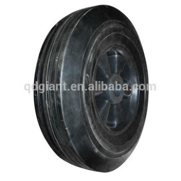 """10""""x2.5"""" reliance solid rubber wheels made in China"""