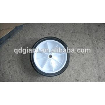 Small Wheel 6x1.5 Inch Solid Rubber Wheel