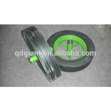 cheap 16 inches solid rubber wheel / wheelbarrow tire