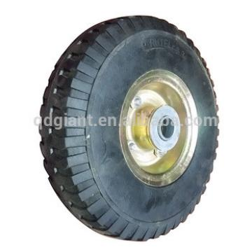 """10""""x3.00-4 top quality solid rubber wheel for hand trolley"""