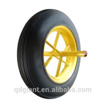 Solid rubber wheel 14x4 for wheelbarrow WB6400