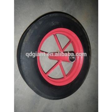 16inch solid rubber wheel barrow wheels