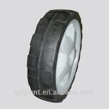 Solid rubber wheels 12inch wheel for lawn mover