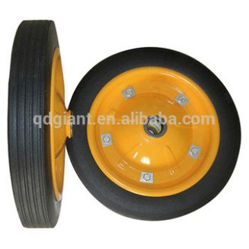 13x3 professional china wheel manufacturer solid rubber wheel