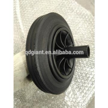 8 Inch Solid Rubber Wheels for Trash Bins