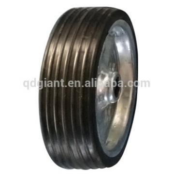 200x60 steel rim solid rubber wheel