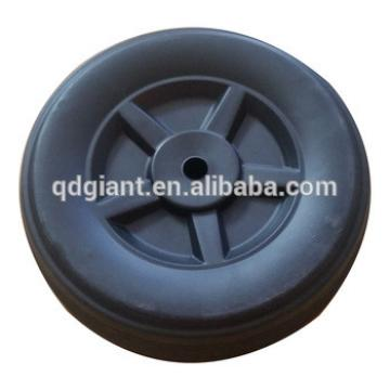 8inch PVC plastic wheel for tools and toy