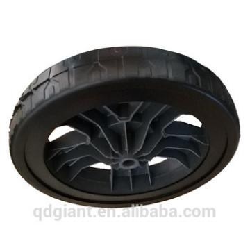10x1.75 inch Lawn Mower PVC plastic wheel