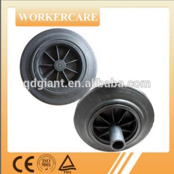 8 inch trash bin PU foam wheel