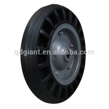 "Gray steel wheels solid tires 13""x2.50-8"