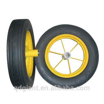 16 inch cheap solid rubber wheel