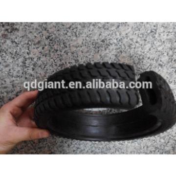 8 inch lawn mover semi hollow tire