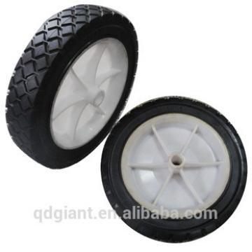 """Garden cart wheelbarrow solid rubber wheel 7""""x1.5"""""""