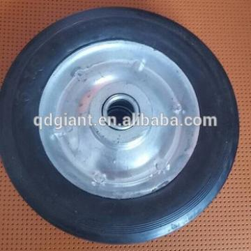 "small castor wheel 6"" x 1.5"" Solid Rubber wheel"