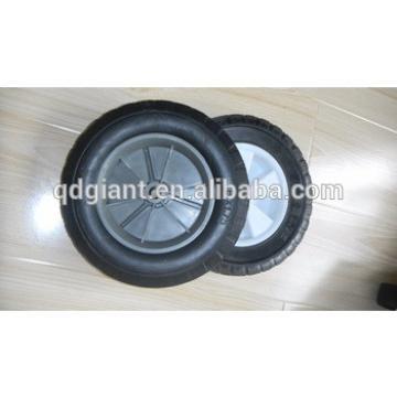 """8"""" solid rubber wheel for trash bin"""