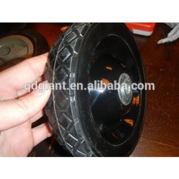 7x1.5 inch solid rubber wheel for hand trolley