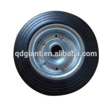 lawn mower wheel 8inch solid rubber wheel