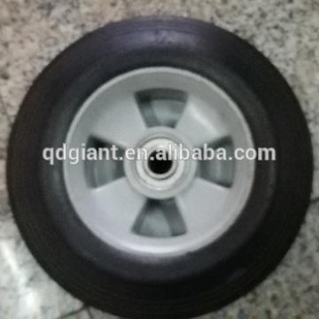 """8""""X2"""" solid rubber wheel for hand trolley"""