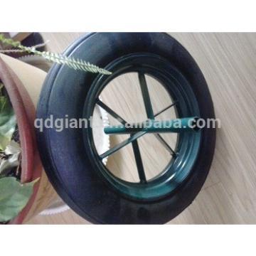 "Best Selling 14"" Solid Rubber Tires for Heavy Duty Wheelbarrow"